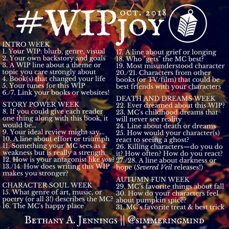 #WIPJoy Challenge: Rise Of The Shadow Lord