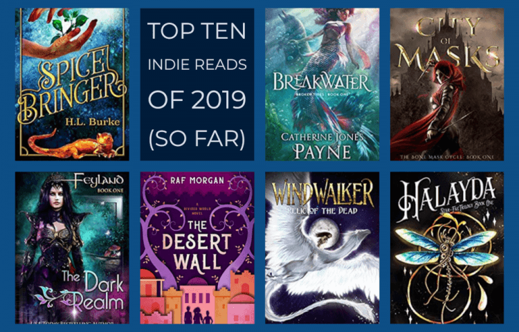 Top Ten Indie Reads of 2019 (so far)
